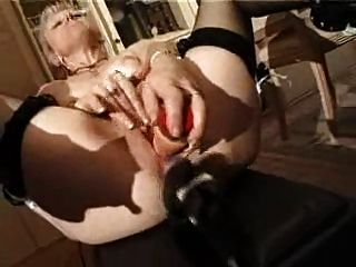 Shaved Milf Playing