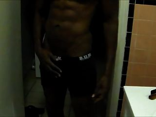 Str8 Black Power Jerk Hard & Cum