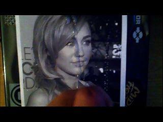 Intimate Miley Cyrus Facial