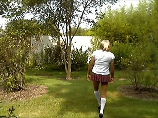 Sexy School Girl Crossdresser
