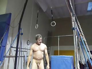Me Playing In The Gym Naked