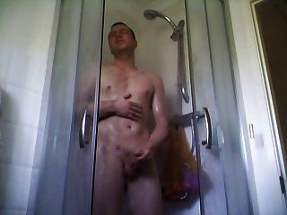 Morning Shower Wank