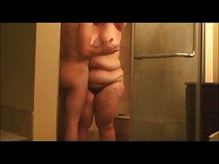 Chubby Bbw Dry After Showering
