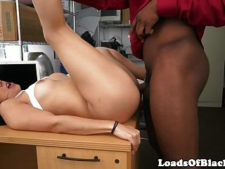 Amateur Pounded Hard By Black Agent