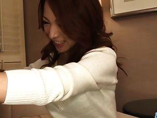 Amateur, Kanako Tsuchiyo, Kneels To Suck A Big Dong