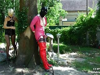 Public Sissy Training - Mistress Zita