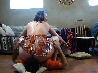 Big Ass Panty Facesitting