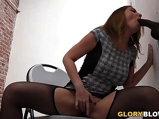 Kiki Daire Tries Anal With Black Cock - Glory Hole