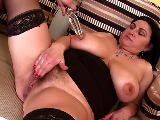 Taboo Posh Mature Mom Seduce Young Son