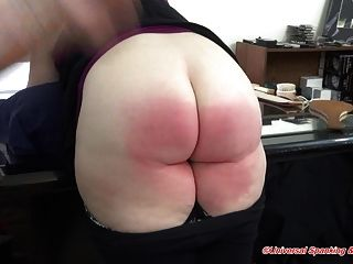 The Spanking Punishment Of Kissed