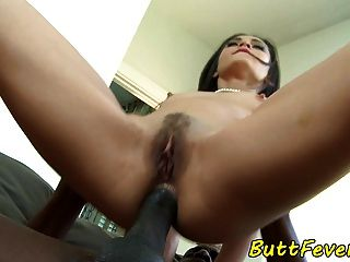 Glamcore Babe Assfucked By Black Cock