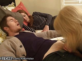 Cougar Caught Assfucking Son-in-law