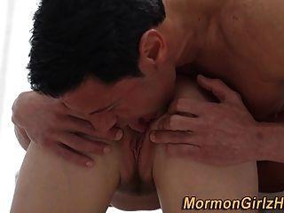 Mormon Teen In Ritual