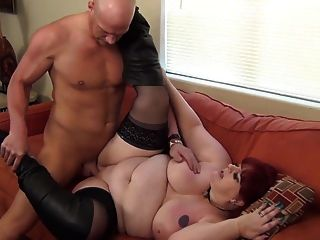 Bbw Mom Riding And Sucking Cock