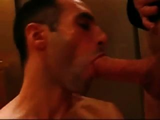 Sucking And Swallow In The Elevator