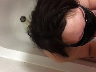 My Sub Slave Wife Drinks Piss And Sucks Cock