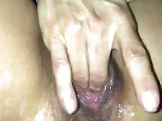 Massive Squirting When Fingering Herself