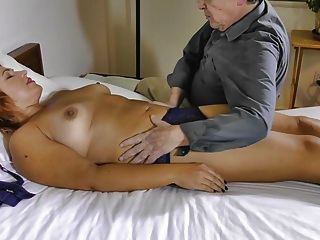Pandora Massaged And Fingered To Orgasm