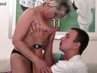 Mature Mother Fucking Younger Son
