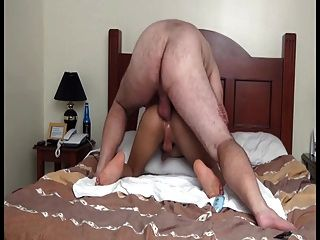 Old Man Fucks Beautiful Ladyboy
