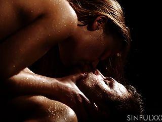Sensual Slow Sex And Cumshot