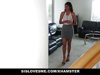 Sislovesme - Condom Lessons With Step-sis