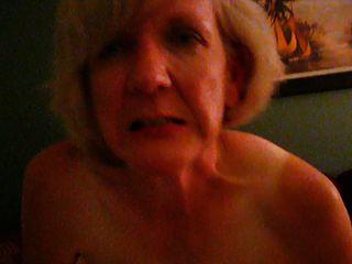 Mature Blonde Impaled On Bbc