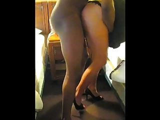 White Wife Taking Bbc From Behind