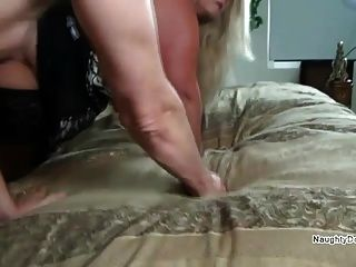 Small Guy Underneath A Pawg
