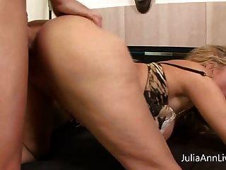 Busty Milf Julia Ann Gets Fucked Pov With Big Cock!