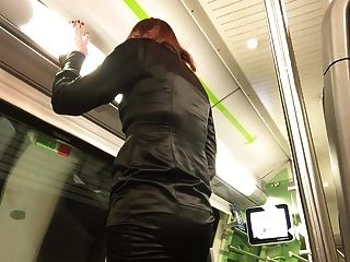 Sweet Ejaculation In The Train
