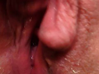Pussy Cumming Dripping Wet Contracting Orgasm Hot