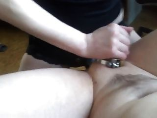 Pegging Man In Chastity