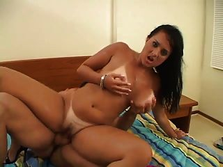 Tanned Girl Pounded In Her Ass Hole