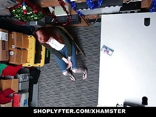 Shoplyfter - Red Headed Slut Offers Pussy For Stealing