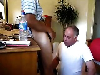 Younger Guy Face Fucks Older Guy