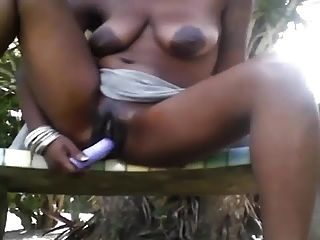 Squirting At The Park