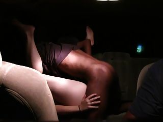 Car Sex With A White Slut