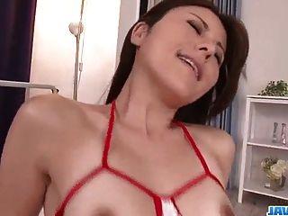 Impressive Sex Video With Peachy Tits Rosa Kawashima