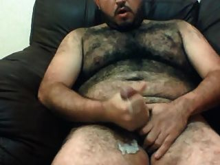 Gorgeous Hairy Bear Stroking