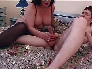 Old & Young - Dirty Mom Sex With Young Boy