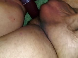 Hairy Bbw Wife Pov Double Dong Dildo Strapon Pegging Ass