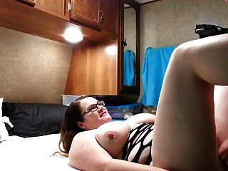 Fucking My Bbw Huge Tit Wife Hard Angle 2