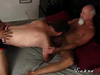 Three Guys Getting Fucked Really Hard