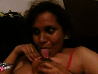 Indian Babe Lily Hairy Pussy Fucked With Blowjob