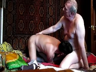 Russian Daddy And His Friend
