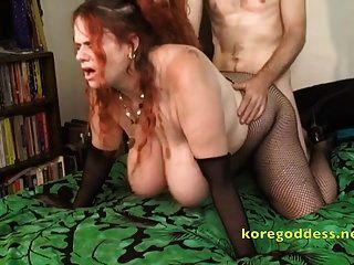 Redhead Kore The Huge Tits Anal Slut