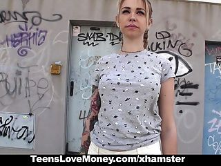 Teenslovemoney - Desperate Teen Fucks For Money