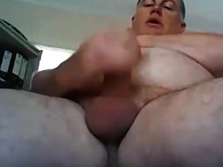 Sexy Daddy Jerking Off Hard