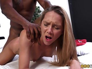 Hollie Mack Tries Big Black Cock First Time